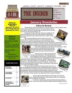 NEWSLETTER January 2016 Final -sb