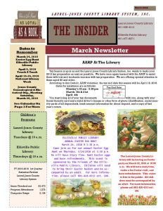 Newsletter March 2016 Final SB-JB